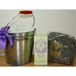 Lavender Bucket Gift Set