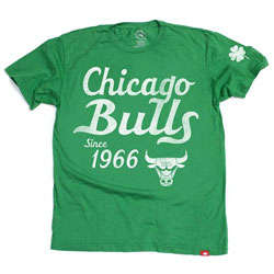 Chicago Bulls Shamrock T-Shirt
