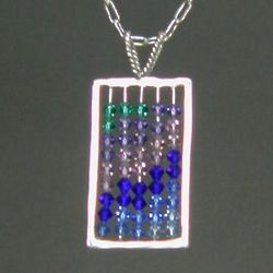 Crystal Abacus Necklace