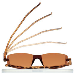 Flat Folding Rimmed Italian Sunglasses