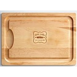 Personalized Rolling Pin Cutting Board
