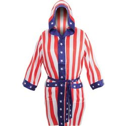 Apollo Creed Satin Robe and Boxer Shorts