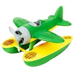 Green Seaplane Toy