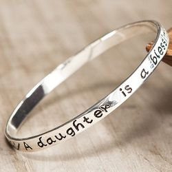 A Daughter Is A Blessing Bangle