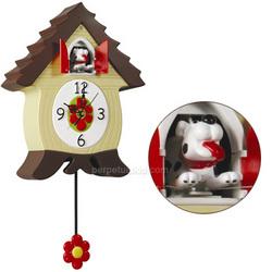 Dog Barkcoo Coo Coo Clock