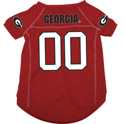 Georgia Bulldogs Premium Pet Football Jersey
