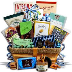 Premium Kosher Hanukkah Gift Basket