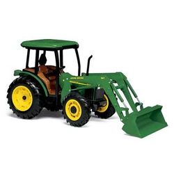 John Deere Toy with Cab and Loader