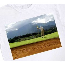 Personalized Golf Bunker T-Shirt