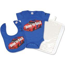 Born To Race Nascar Baby Gift Set