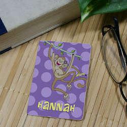 Personalized Monkey Bookmark