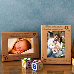 Personalized Twinkle, Twinkle Wooden Picture Frame