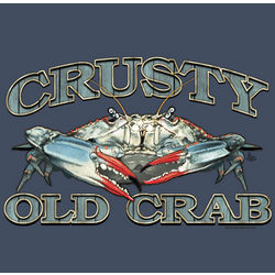 Crusty Old Crab T-shirt
