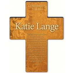 Personalized Confirmation Prayer Gardens of Grace Cross