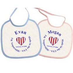 Made in the USA Baby Bib
