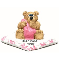 Personalized Baby Bear Figurine