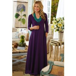 Santiago 3/4 Sleeve Maxi Dress