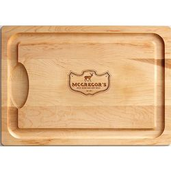 Personalized Cutting Board with Elk