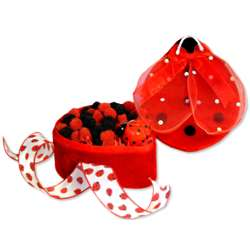 Large Lady Bug Candy Gift Box
