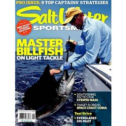 Salt Water Sportsman Magazine Subscription 10 Issues Seasonally