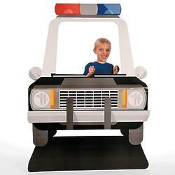 Kid's Police Car Standee