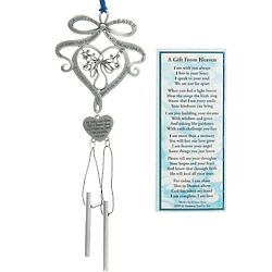 A Gift from Heaven Memorial Wind Chime Ornament & Bookmark