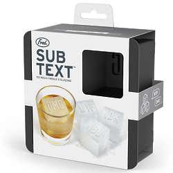 Subtext Ice Mold