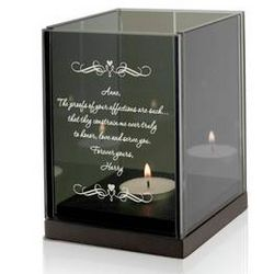Love Letter Personalized Candle Holder