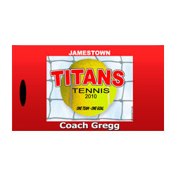 Personalized Tennis Bag Tags