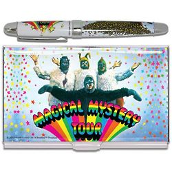 Beatles Magical Mystery Tour Rollerball Pen and Card Case