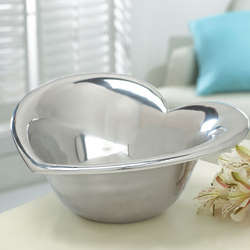 Aluminum Heart Shaped Bowl