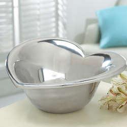 Aluminum Heart Shaped Bowl