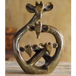 Shona Giraffe Sculpture