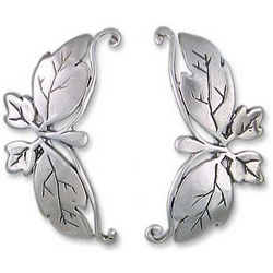 Butterfly Romance Sterling Silver Drop Earrings