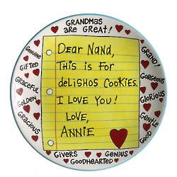 Grandmas are Great DIY Platter