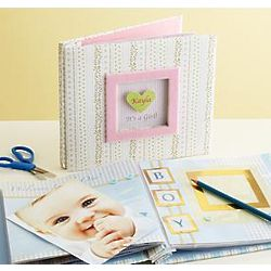Personalized Instant Baby Scrapbook