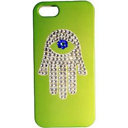 Swarovski Crystal Hamsa Phone Case