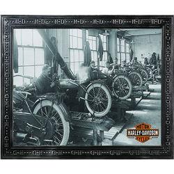 Harley-Davidson Factory Scene Mirror