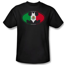 Mexican Flag Batman T-Shirt