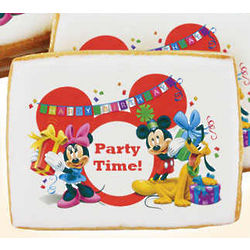 Mickey Mouse and Gang Birthday Cookies