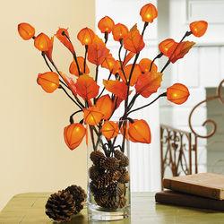Orange Fall Blossom Lights