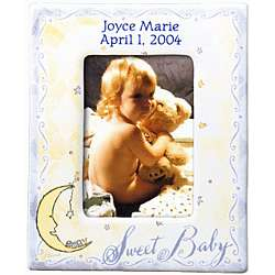"""Sweet Baby"" Personalized Baby Picture Frame"