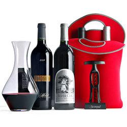 Silver Oak Wine Duo Connoisseur's Gift Set