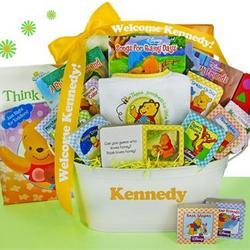 Winnie the Pooh Gift Basket
