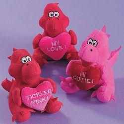 Plush Valentine Dragons
