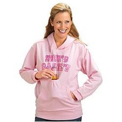 Personalized Pink Beverage Pouch Hoodie