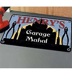 Personalized Garage Mahal Doormat