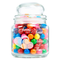 Personalized Sweets for My Sweet Glass Jar