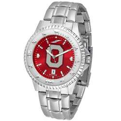 Ohio State Buckeyes Steel Band Watch