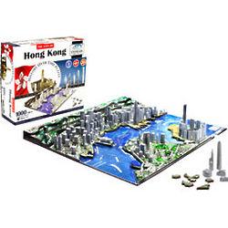 Hong Kong 4D Cityscape Puzzle